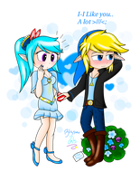 Will You Be My Blue Valentine? by The-Awesome-Blossom