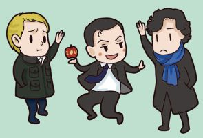 Sherlock sticker by dosruby