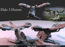 Halo 3 Hornet by martynball