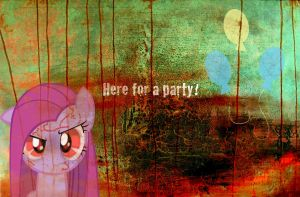 Here for a party? by RikiTheSuperZeldaFan