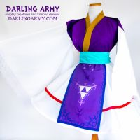 Princess Hilda Legend of Zelda Cosplay Kimono Dres by DarlingArmy