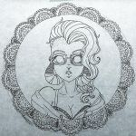 Never drawing lace again. by makayla1990