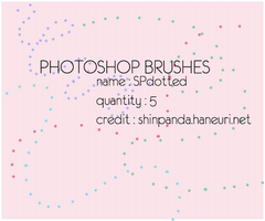 BRUSH PACK : dotted by chazzief
