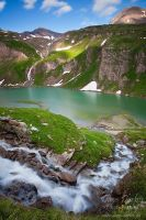 Paradise lake by Dave-Derbis