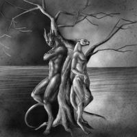 Sketch Commission - Duality by jocarra