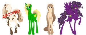 Adoptables - Mares .:CLOSED:. by Cybiline
