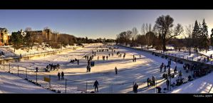 Rideau Canal Panorama by TallJohn