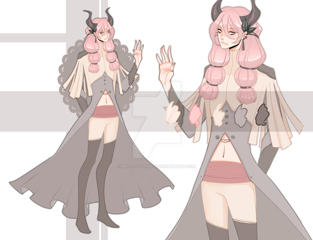 DEMON HUNTER ADOPTABLE CLOSED by miotess-adopts