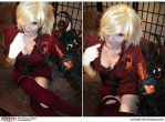 Hellsing Cosplay : Seras : Color Me Blood Red by Redustrial-Ruin
