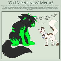 Old Meets New [meme] by Waterbender-Jay