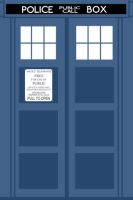 Tardis Wallaper by FlantsyFlan