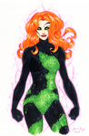 Poison Ivy - Hand-colored by JamieFayX