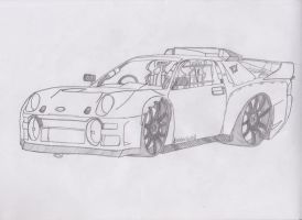 The [HOONIGAN] Ford RS200 by jmig3