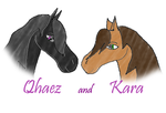 Qhaez And Kara by Evernette