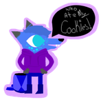 Night in the woods oc stickers by acecarddraws