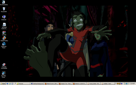 Young Justice -Beast Boy desktop 2 by DTWX