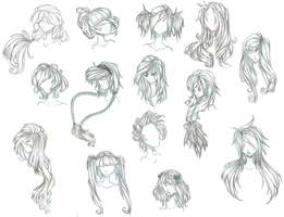 anime hair by Aii-Cute