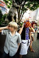 Cosplay: Meeting at Hachiko by Risachantag
