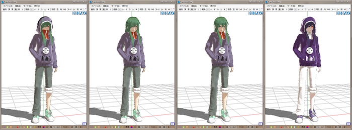 MMD Newcomer Kido A by Esdras18