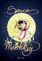 Space Moonkey 1 by tintanaveia