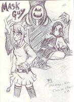 drawing from sketch book 1 by manga-kachazchan