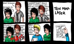 A Song About Love - Comic by GreenDay-Toons
