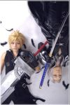 final fantasy vii: AC by kaname-lovers