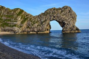SUNSET AT DURDLE DOOR by major-holdups