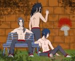The Uchiha Gang by SupremeDarkQueen
