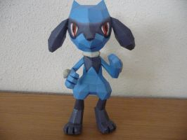 Riolu papercraft by dodoman75