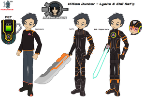 William Dunbar - Lyoko and EXE by SuperDigiFlow