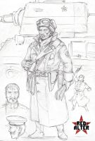 Soviet general of armor forces by TugoDoomER