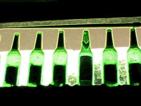 green bottles by decline222