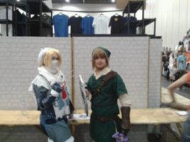 Sheik and Link by Ligrano