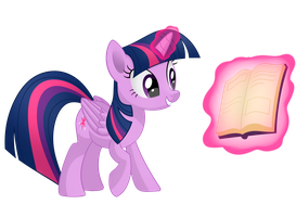 Twilight Sparkle (with magic) by MirrorCrescent