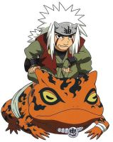 Jiraiya_Chibi by laura18pm