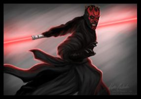 Darth Maul by jasric