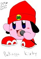 Parappa Kirby by DinyDino9