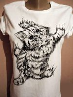 Hand painted tshirt by keopsa