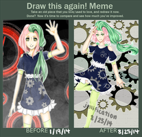 Draw This Again Meme by jellification