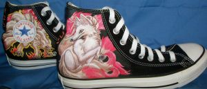 Ninetails Shoes by Brokenfeather-san