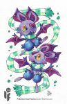 Pokemon Scarf Series: Noibat 8/9 by cheru3