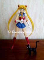 Bandai - S.H.Figuarts - Sailor Moon by Mclarengirl