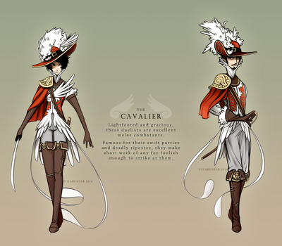 RPG classes - the Cavalier by YuzaHunter