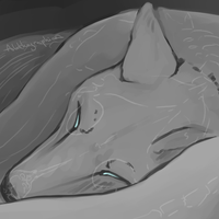 Paintsketch: Canidae by Alithographica