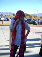 Anime Banzai 2012 Cheshire Grell by spottedcloud123