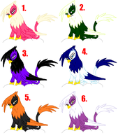 MLP Griffin adoptables by Honey-PawStep