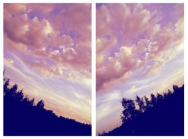 pinky clouds by DariaGALLERY