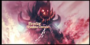 Eredar/Shadow Demon Signature by murr3
