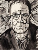 William Gibson by SergiyKrykun
